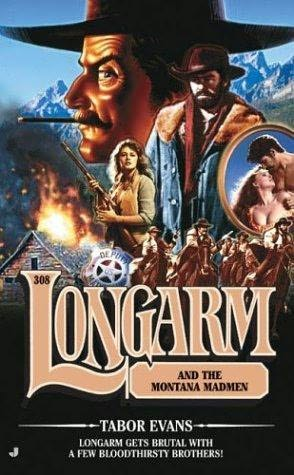 book cover of Longarm and the Montana Madmen