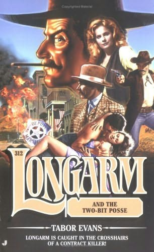 book cover of Longarm and the Two-Bit Posse