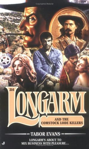 book cover of Longarm and the Comstock Lode Killers