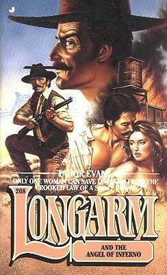 book cover of Longarm and the Angel of Inferno