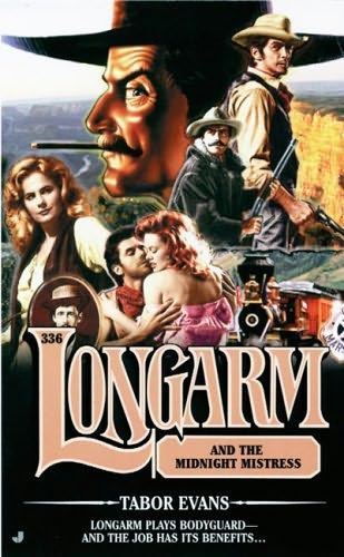 book cover of Longarm and the Midnight Mistress