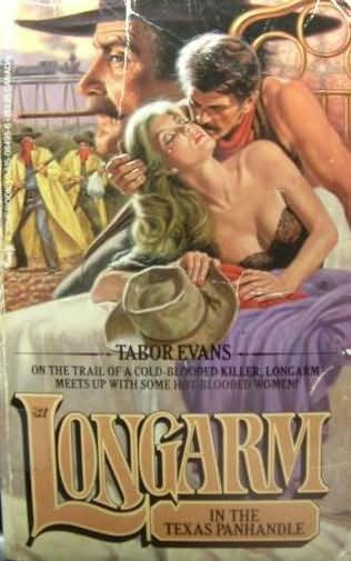 book cover of Longarm in the Texas Panhandle