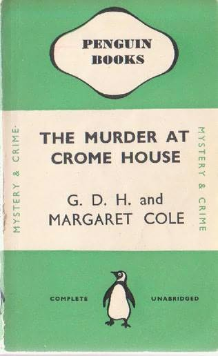 book cover of The Murder at Crome House