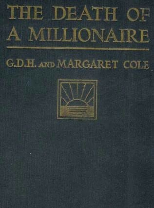 book cover of The Death of a Millionaire