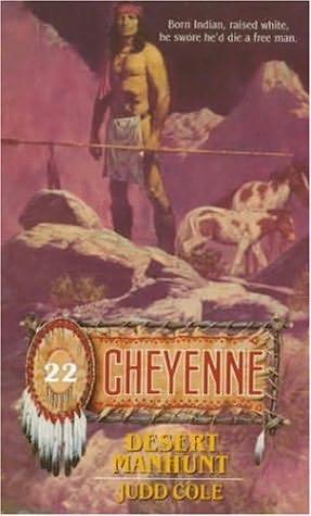 book cover of Desert Manhunt
