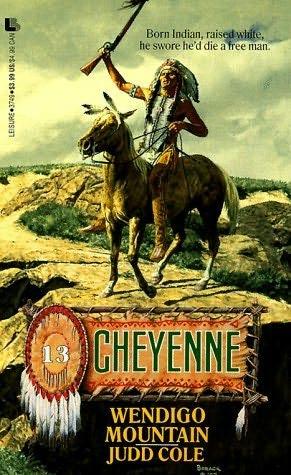 book cover of Wendigo Mountain