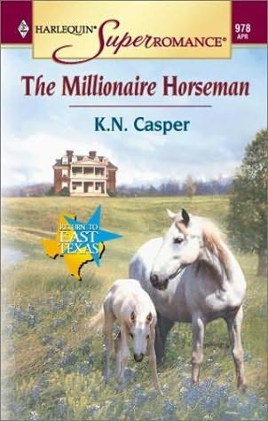 book cover of The Millionaire Horseman