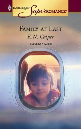 book cover of Family at Last