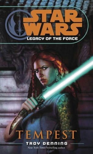 book cover of Tempest (Star Wars : Legacy of the Force, book 3)