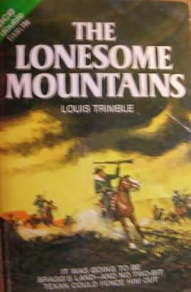 book cover of The Lonesome Mountains