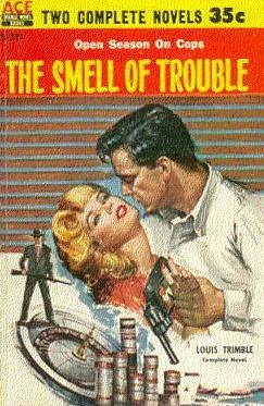 book cover of The Smell of Trouble