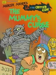 book cover of The Mummy\'s Curse