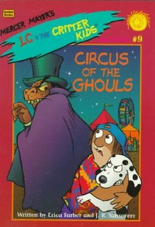 book cover of Circus of Ghouls