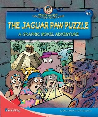 book cover of The Jaguar Paw Puzzle
