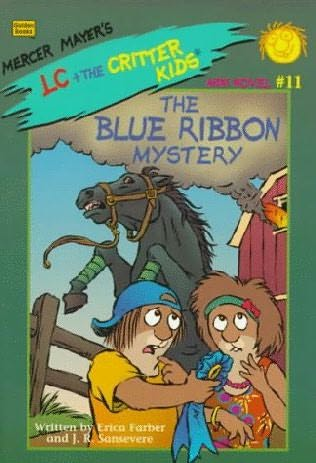 book cover of The Blue Ribbon Mystery