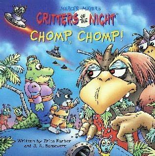 book cover of Chomp, Chomp