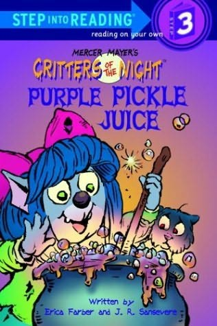 book cover of Purple Pickle Juice