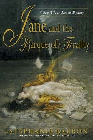 book cover of Jane and the Barque of Frailty