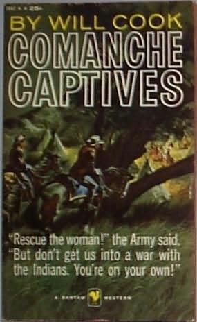 book cover of Comanche Captives