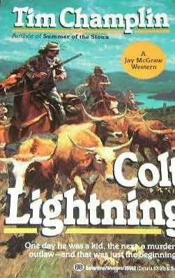 book cover of Colt Lightning