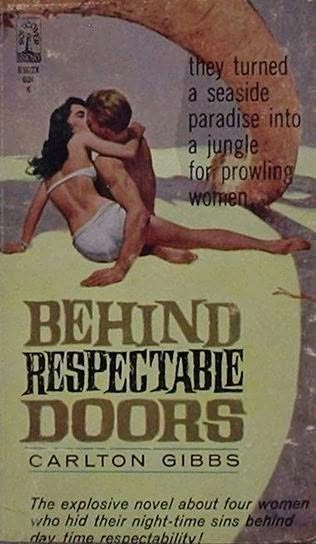 book cover of Behind Respectable Doors
