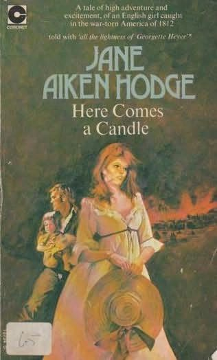 book cover of Here Comes a Candle