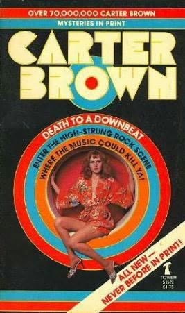 book cover of Death to a Downbeat