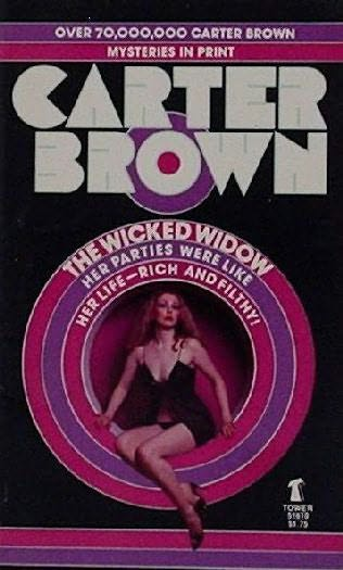 book cover of The Wicked Widow