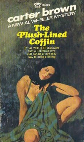 book cover of The Plushed Lined Coffin