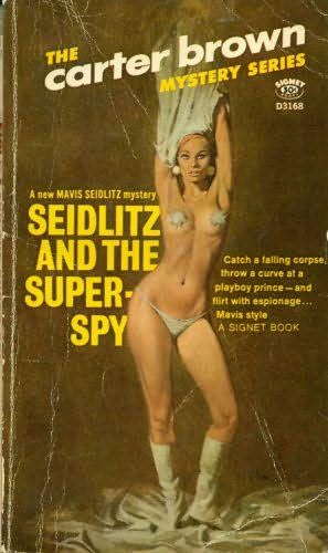 book cover of Seidlitz and the Super Spy
