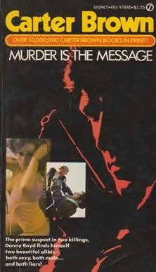 book cover of Murder Is the Message