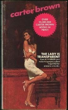 book cover of Lady Is Transparent