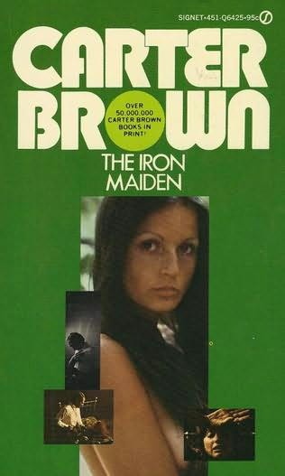 book cover of The Iron Maiden