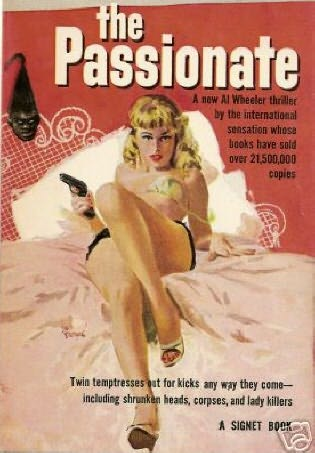 book cover of The Passionate