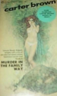 book cover of Murder in the Family Way