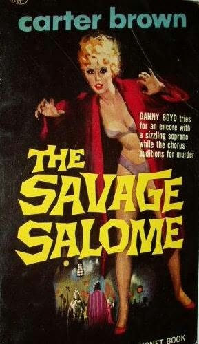 book cover of The Savage Salome