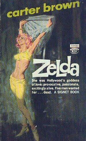 book cover of Zelda