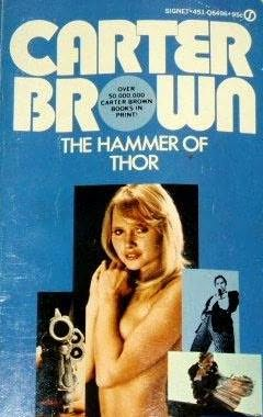 book cover of The Hammer of Thor