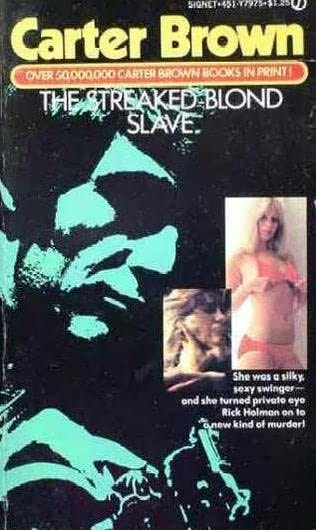 book cover of Streaked Blond Slave