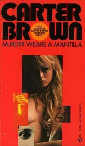 book cover of Murder Wears a Mantilla
