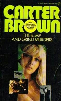 book cover of The Bump and Grind Murders