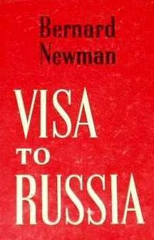 book cover of Visa to Russia