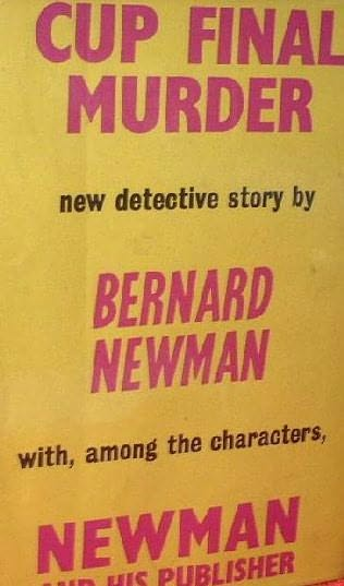 book cover of Cup Final Murder