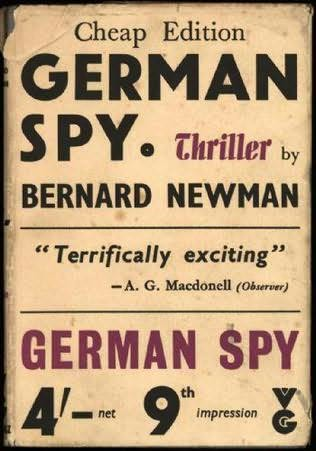 book cover of German Spy