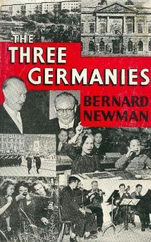 book cover of The Three Germanies