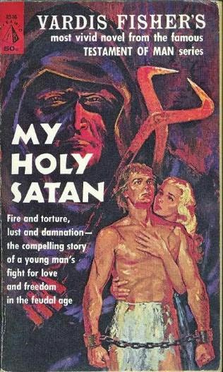 book cover of My Holy Satan