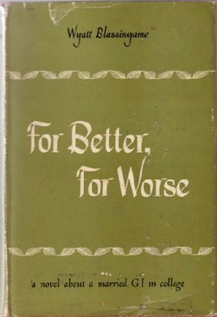 book cover of For Better, for Worse