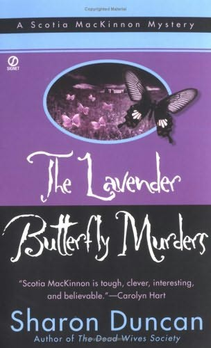 book cover of The Lavender Butterfly Murders