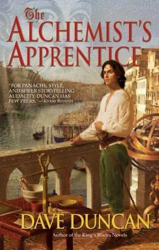 book cover of The Alchemist\'s Apprentice
