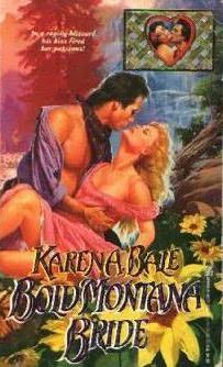 book cover of Bold Montana Bride